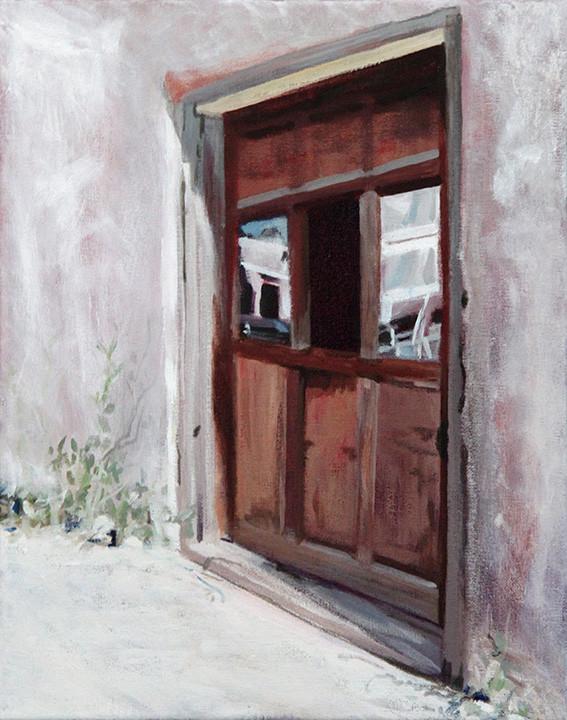 New Mexico - Glass Door