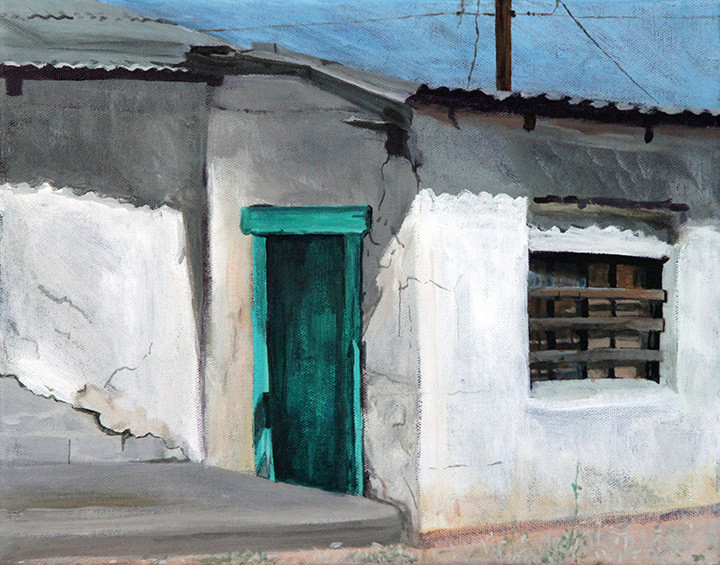 New Mexico - Green Door